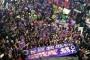 İstanbul Taksim'de 25 Kasım yürüyüşü: Bir kişi daha eksilmeye tahammülümüz yok!