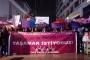 İzmir'de kadınlar şiddete karşı birlikte: Eşit ve özgür bir dünyada yaşamak istiyoruz