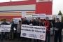 Antep'te işçilere baskı fabrika önünde protesto edildi: Sendikalı olmak haktır