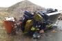 Nallıhan'da iş cinayeti: Yol temizleme aracı devrildi, 1 işçi öldü