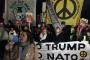 NATO Zirvesine karşı kitlesel protestodüzenlendi