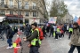 Fransa'da sarı yeleklilerin gösterileri 57. haftasında sürdü