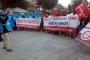 İşçiler, İstanbul'da taleplerini haykırdı: Geçinebilecek ücret, vergide adalet!