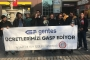 Ücretleri aylardır ödenmeyen Gentes işçilerinden Kayseri'de eylem