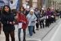 Denizli'de cinsel istismar ve kadın cinayetlerine karşı insan zinciri