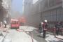 Bağcılar'da daha önce 2 işçinin hayatını kaybettiği işyerinde yine yangın çıktı