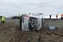 Aksaray'da işçileri taşıyan servis kaza yaptı: 16 yaralı