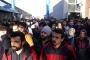 Metal işçileri sefalet ücreti dayatan MESS'i protesto etti