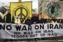Londra'da İran'a yönelik saldırıya karşı eylem