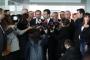 CHP'li belediye başkanları Kanal İstanbul'un övüldüğü toplantıyı terketti