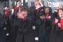 """Fransa'da avukatlar, Macron'un """"emeklilik reformu""""nu Haka dansıyla protesto etti"""