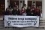 """Adana'da kadınlar """"bin kadın ayağa kalkıyor"""" eylemlerine destek verdi"""