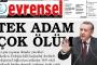 İlan Kurumu'ndan Evrensel'e Erdoğan cezası