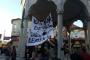 Bartın'da 'Laiklik deyyusluk demektir' pankartı gerginliği
