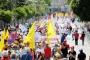 Antalya'da son yılların en coşkulu 1 Mayısı kutlandı