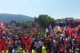 Bursa'da 1 Mayıs binlerle kutlandı