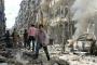 Cihatçılar  Halep'i bombalıyor