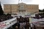 Troyka yasalarına karşı Yunanistan'da 48 saatlik grev