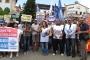KESK Antalya Valiliğinin yasağını protesto etti