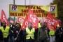 Fransa'da demiryolu işçileri ve pilotlar da greve katılıyor