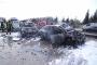 TEM'de 8 araç birbirine girdi: 7 yaralı