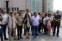 Gazeteciler, meslektaşları Bülent Mumay için adliyedeydi