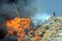 Bodrum'da çöplükte korkutan yangın