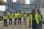 Emaar işçileri direnişi Emaar Satış Ofisi önüne taşıdı