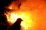 Bodrum'da çöplükte başlayan yangın söndürülemiyor