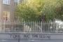 Ermeni okulunun duvarına ırkçı yazılama