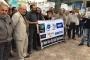 Televizyonların karartılması Malatya'da protesto edildi