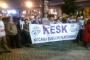 Ankara'ya yürüyen KESK'liler Kocaeli'ye geldi
