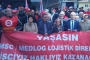 MSC Medlog önünde uluslararası dayanışma