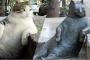 Fenomen kedi Tombili'nin heykeli çalındı