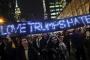 New York'taki Trump protestosundan notlar