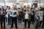 Tutuklu yazarlar ve gazeteciler için TÜYAP'ta eylem yapıldı