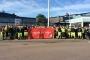 Göteborg'da liman işçileri greve başladı