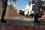 Yamanlar Cemevi'nin salonunda kepçelerle yıkım başladı