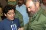 Maradona: Castro benim için ikinci bir baba gibiydi