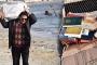 Tekirdağ'da deniz kıyısında dini kitaplar bulundu