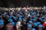 Erdemir işçilerinden vardiya çıkışı TİS eylemi