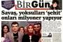 İktidar yanlısı basından BirGün'e tehdit