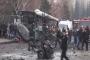 Kayseri'de askerleri taşıyan otobüse bombalı saldırı: 14 ölü