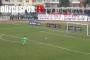 Düzcesporlu Kerem Çağatay, 75 metreden gol attı