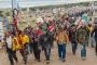 ABD'de binlerce yerli Beyaz Saray'a yürüdü