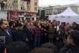 Necmi Kadıoğlu'nun 'darbe' açıklaması protesto edildi