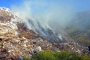 Bodrum'da çöplükte yangın