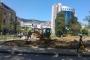 İzmit'te 1 Mayıs toplanma alanında kazı çalışması