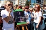Ereğli'de Burcu Okumuş'un öldürülmesi protesto edildi