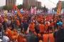 Tandoğan'da işçiler başka, kürsü başka telden çaldı